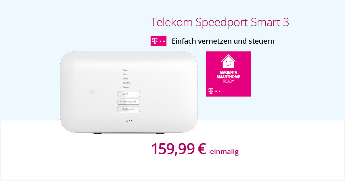 Telekom Speedport Smart 3-WLAN-Router