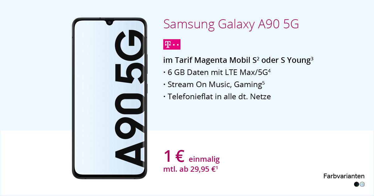 Samsung Galaxy A90 5G Mit MagentaMobil S