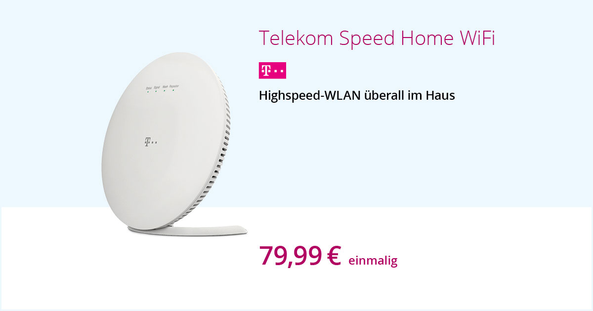 Telekom Speed Home WiFi