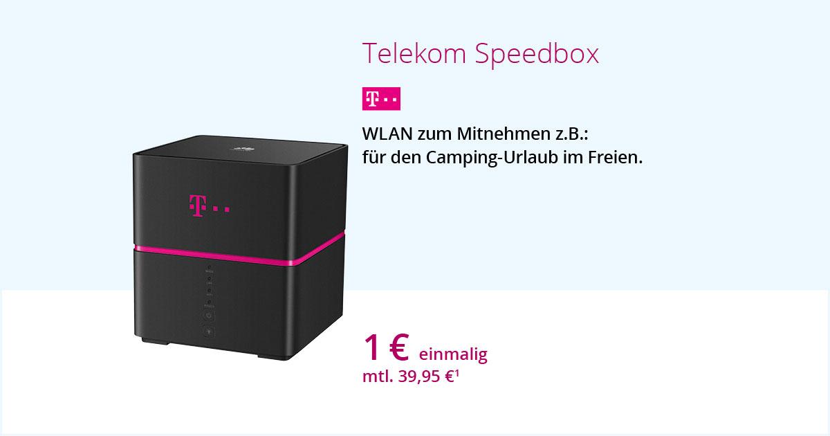 Telekom Speedbox – WLAN Zum Mitnehmen