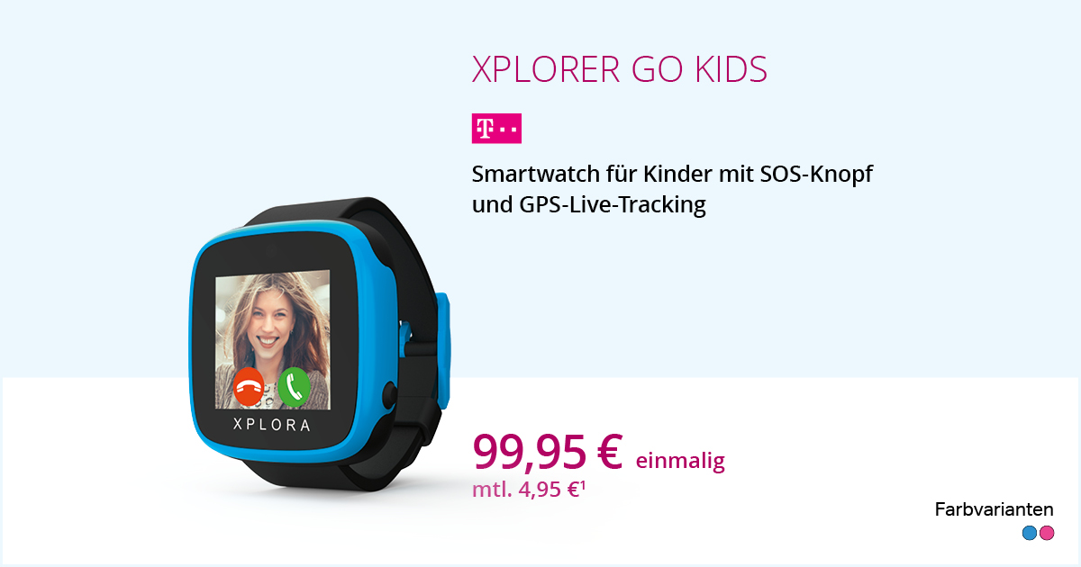 Xplora Go Kids Smartwatch Mit Smart Connect S