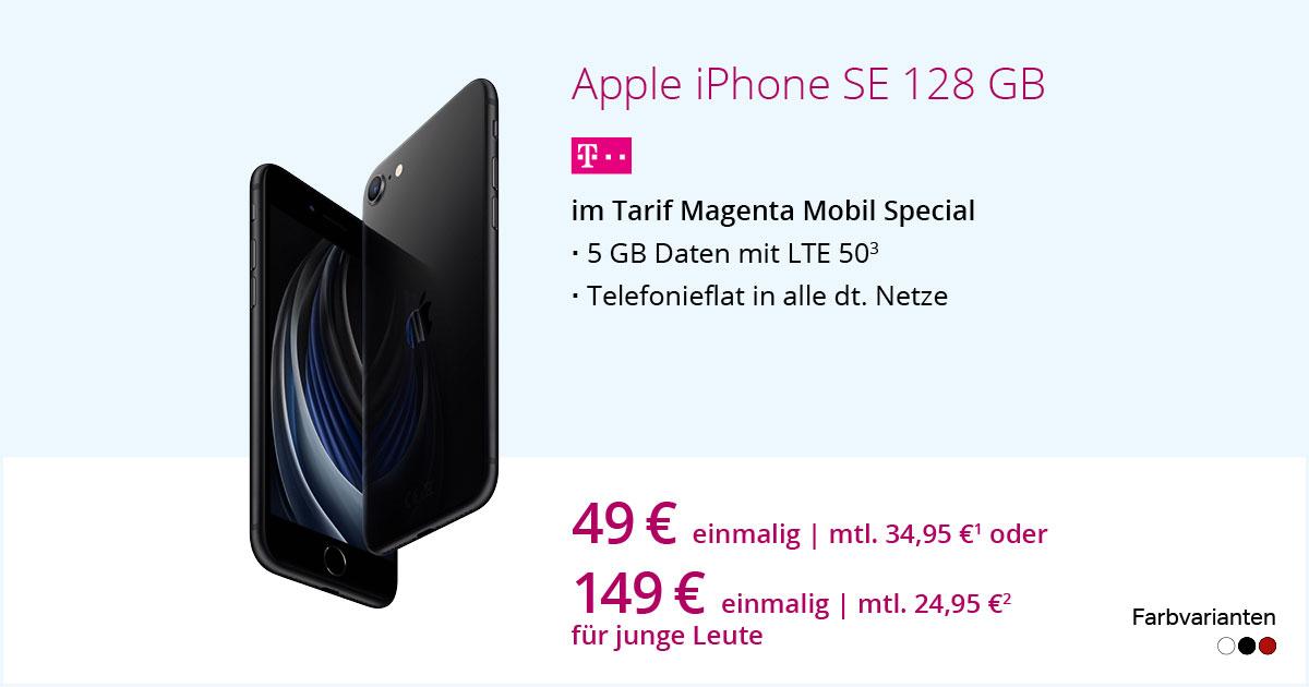 Apple IPhone SE 2020 128 GB Mit MagentaMobil Special
