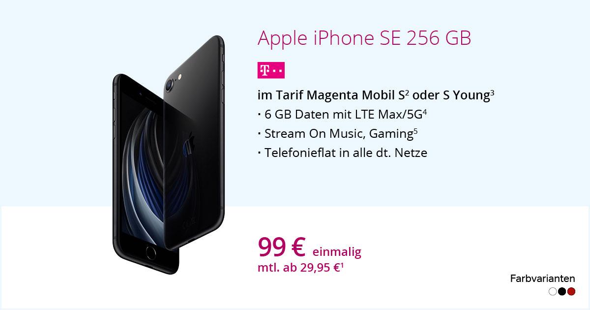 Apple IPhone SE 256 GB Mit MagentaMobil S