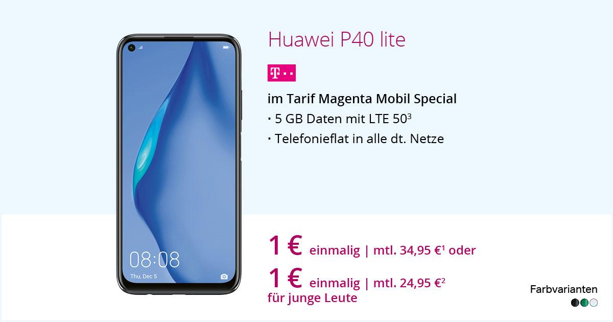 Huawei P40 Lite Mit MagentaMobil Special