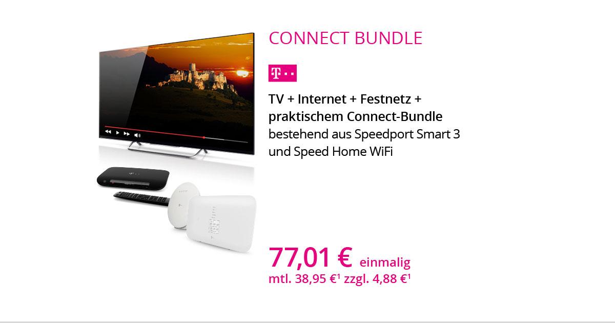 Connect Bundle Für TV, Internet, Festnetz