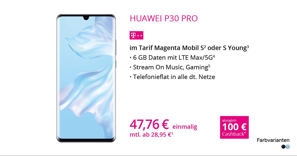 Huawei P30 Pro Mit MagentaMobil S