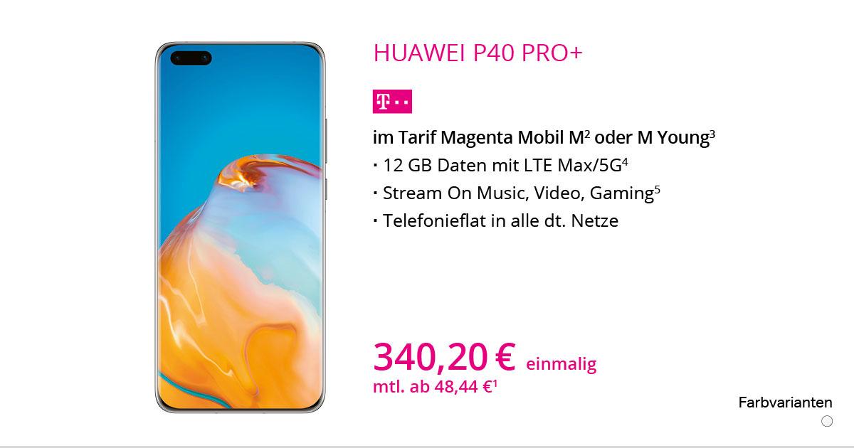 Huawei P40 Pro+ 5G Mit MagentaMobil M