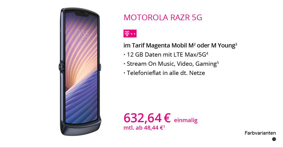 Motorola Razr 5G Mit MagentaMobil M