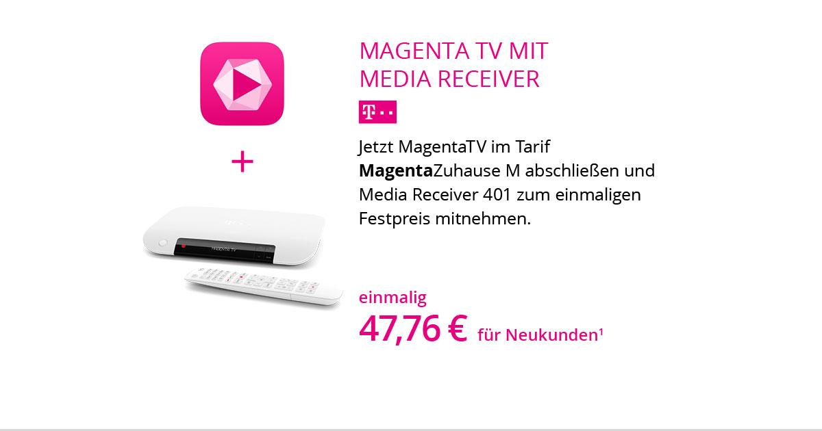 Media Receiver MR401 Mit MagentaZuhause M Und MagentaTV