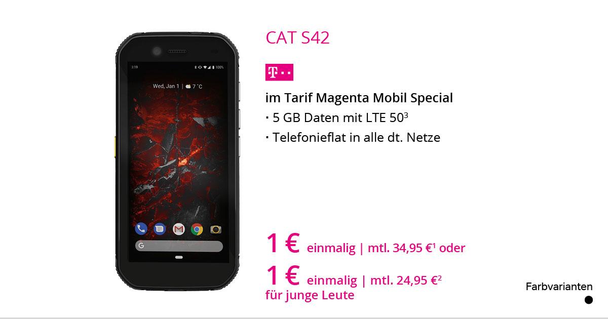 CAT S42 Mit MagentaMobil Special