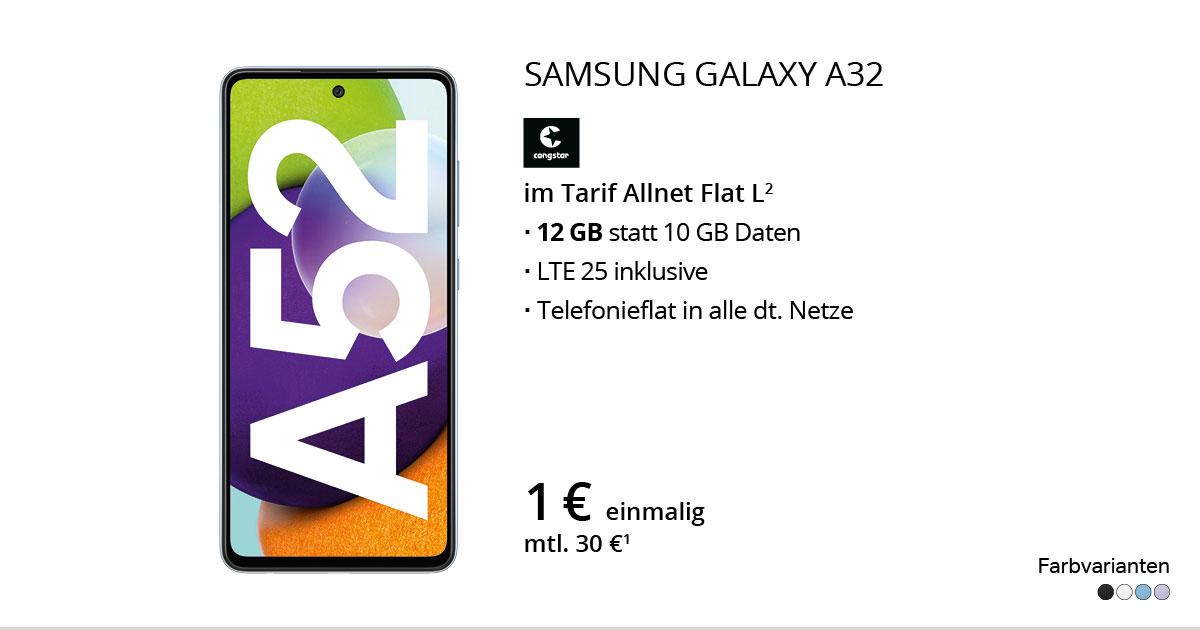 Samsung Galaxy A52 Mit Congstar Allnet Flat L