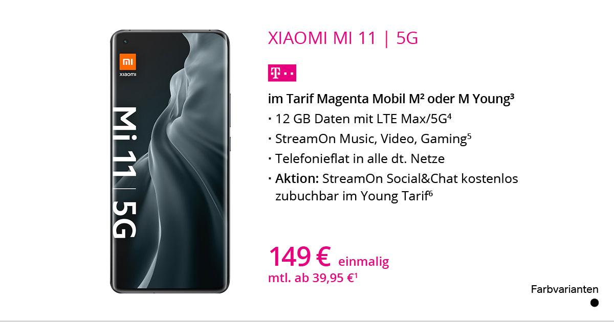 Xiaomi Mi 11 5G Mit MagentaMobil M