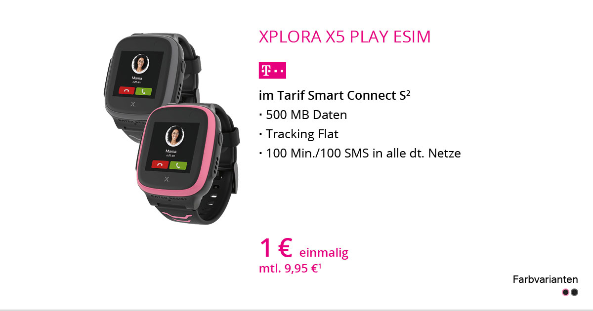 Xplora Kidswatch X5 Play ESIM Mit Smart Connect S