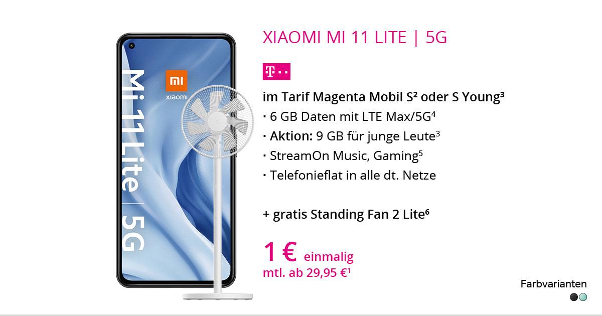 Xiaomi Mi 11 Lite 5G Mit MagentaMobil S
