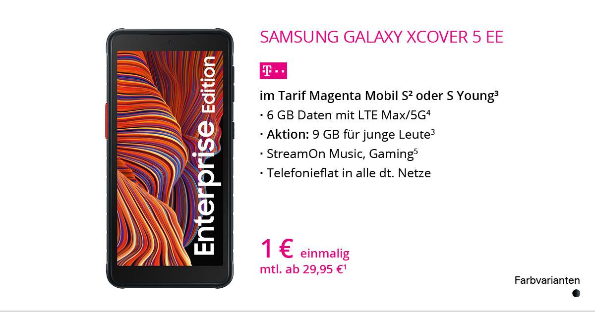 Samsung Galaxy XCover 5 EE Mit MagentaMobil S