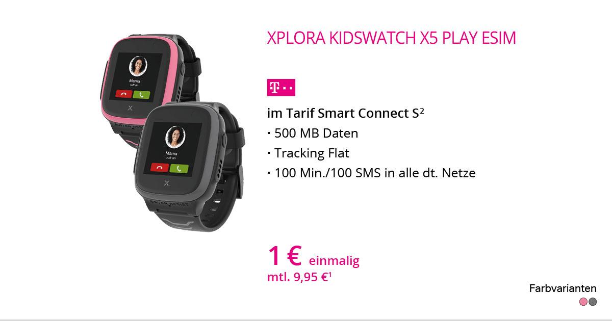 Xplora Kidswatch X5 Play ESIM Mit Smart Connect S