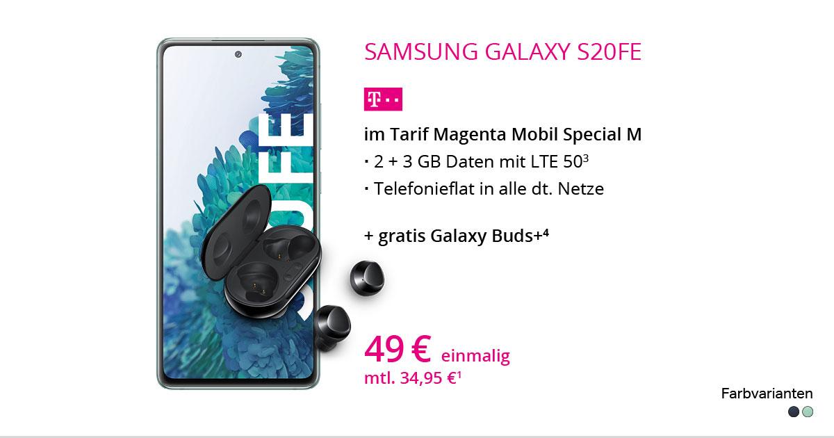 Samsung Galaxy S20 FE Mit MagentaMobil Special M