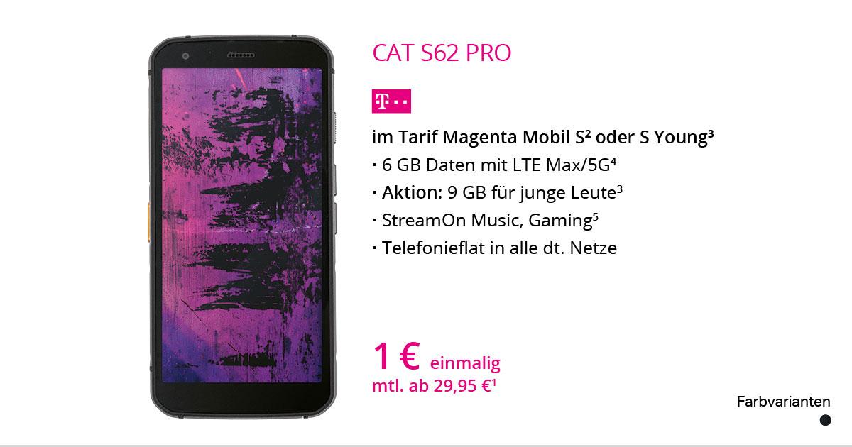 CAT S62 Pro Mit MagentaMobil S