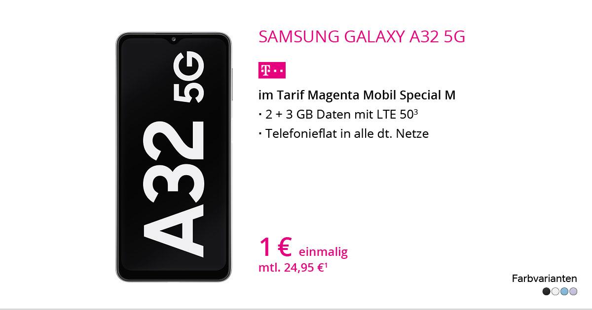 Samsung Galaxy A32 Mit MagentaMobil Special M