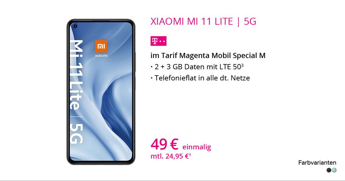 Xiaomi Mi 11 Lite Mit MagentaMobil Special M