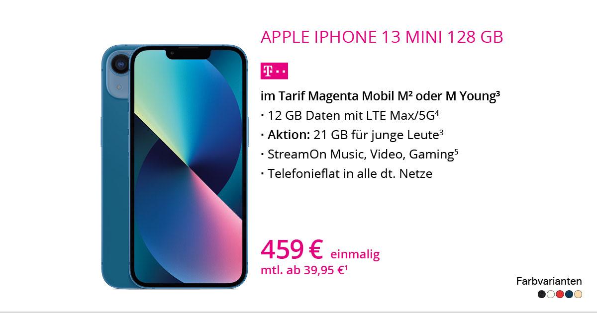 Apple IPhone 13 Mini Mit MagentaMobil M