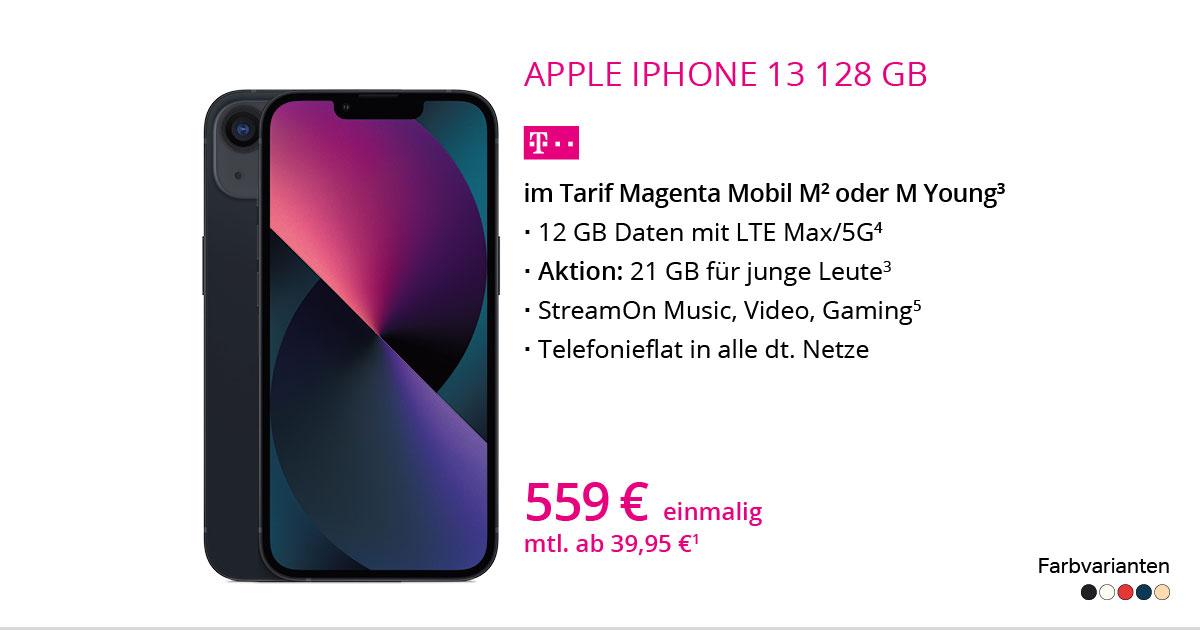 Apple IPhone 13 Mit MagentaMobil M